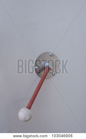 Handle On The Electrical Panel