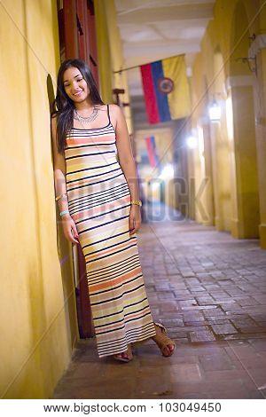 beautiful latina in Cartagena