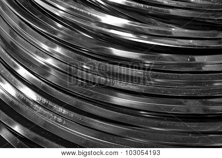 Abstract Metal Curve Tube