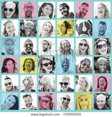 Friends Friendship Portrait Togetherness Fun Concept