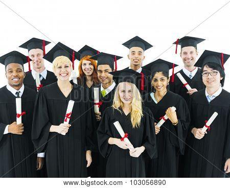 Graduate Graduation Tassel Knowledge Academic Concept