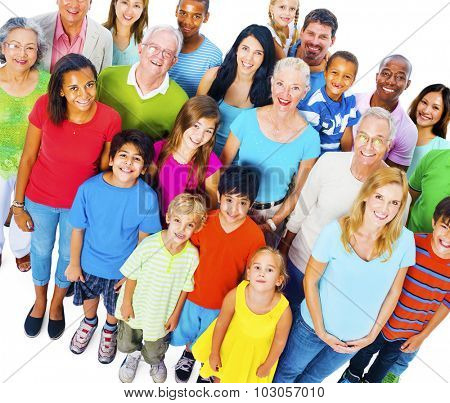 Community Variation Diverse Ethnic Unity Friends Concept