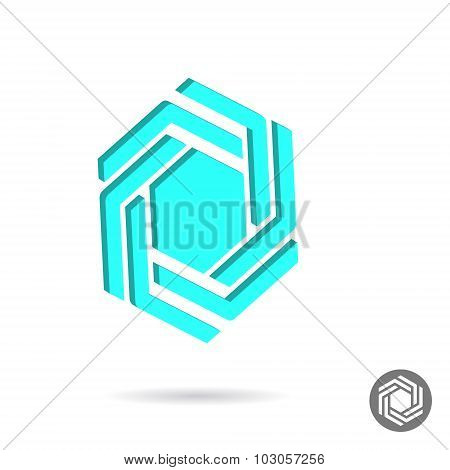 Hexagonal Sign
