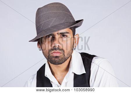 Hip hop dancer portrait