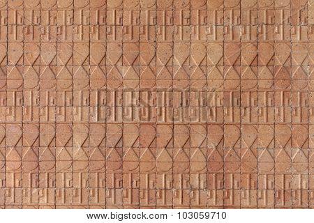 Ceramic Tiles. Beige Mosaic Ceramic Tiles.