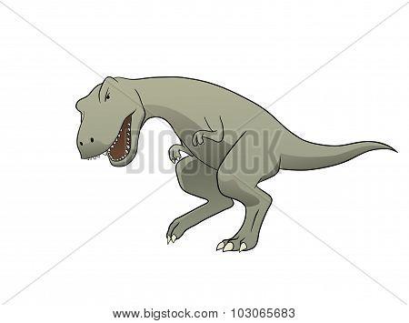 Dinosaur Isolated