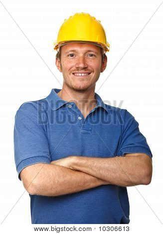 Happy Manual Worker