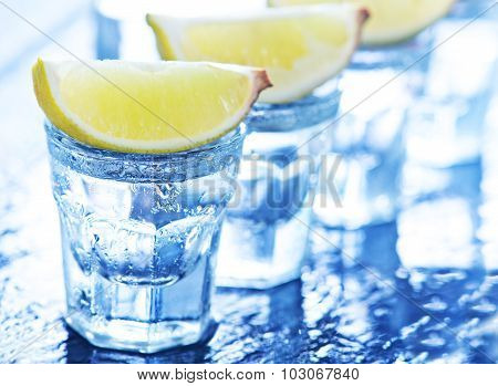 Tequilla With Limes