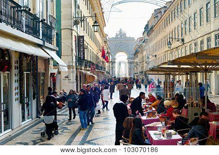 Rua Augusta Square, Lisbon