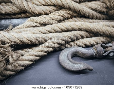 Rope With Hook Object