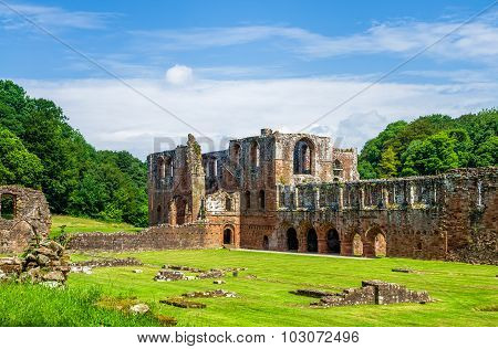 Furness Abbey in Barrow-in-Furness, England