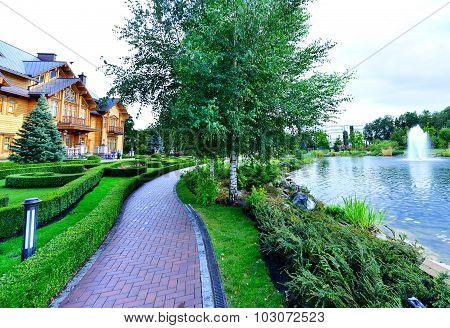 Mezhigirya Residence Of Ex-president Of Ukraine Yanukovich.