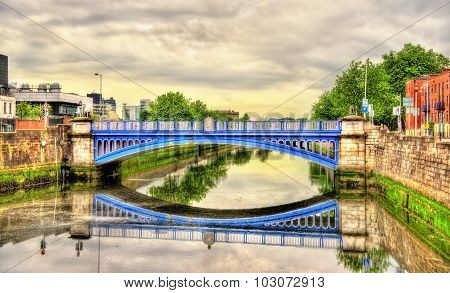 Rory O'more Bridge In Dublin - Ireland