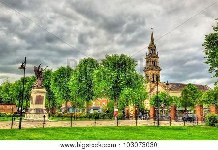 View Of Elmwood Church From Queen's University Of Belfast - Northern Ireland