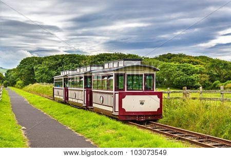 Train At The Giant's Causeway And Bushmills Railway, Northern Ireland