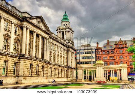 Garden Near Belfast City Hall - Northern Ireland