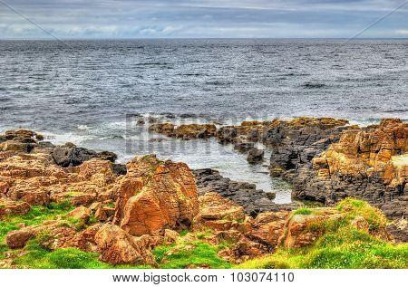 View Of Seacoast In Portstewart - Northern Ireland
