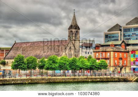 Immaculate Heart Of Mary At City Quay, A Church In Dublin - Ireland