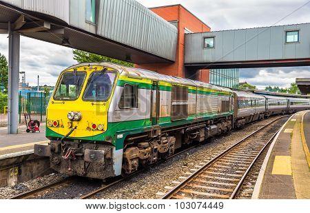 Intercity Train At Belfast Central Railway Station - Northern Ireland