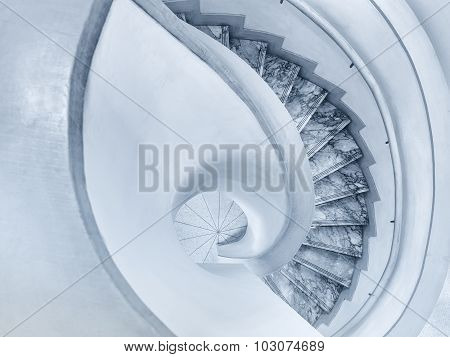 Spiral Staircase Architecture Details
