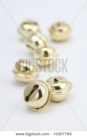 Gold jingle bells
