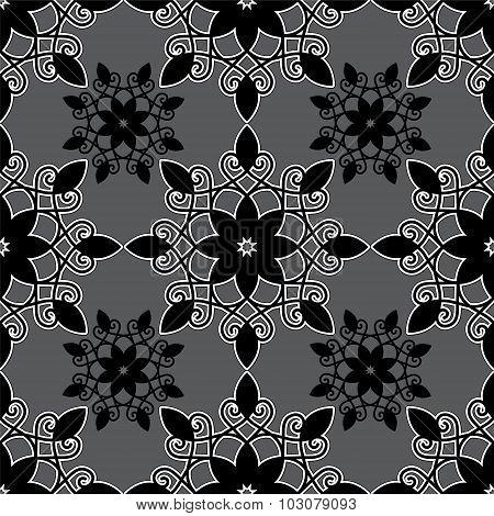 Armenian Seamless Pattern. Orient Flower. Illustration