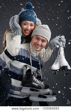 Cheerful Skating