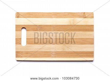 New Cutting Board Made Of Striped Bamboo