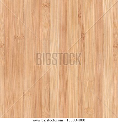 Seamless Texture Of New Clean Bamboo Board