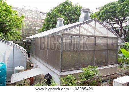 A small greenhouse