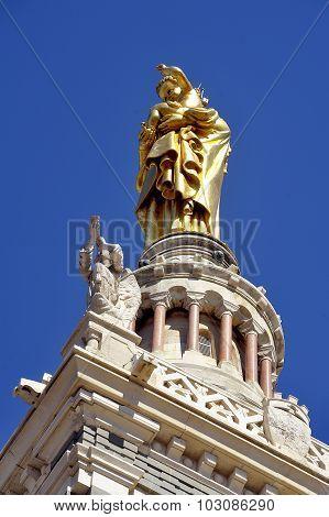 Basilica Notre Dame Of The Guard Marseille