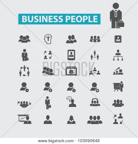 business people, management, human resources