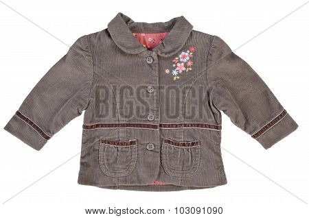Corduroy Jacket For Girl.