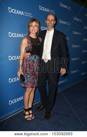 LOS ANGELES - SEP 28:  Sasha Alexander, Eduardo Ponti at the