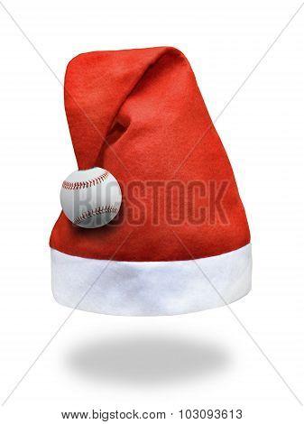 santa claus sports hat