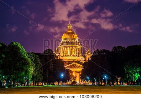 Famous Saint Isaac's Cathedral