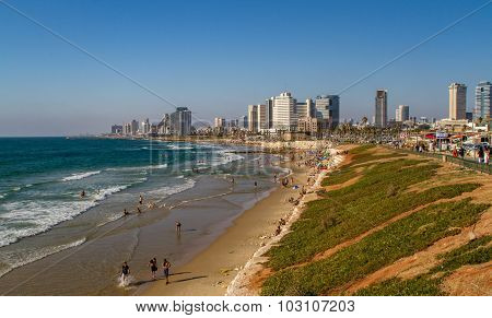 Tel Aviv, waterfront
