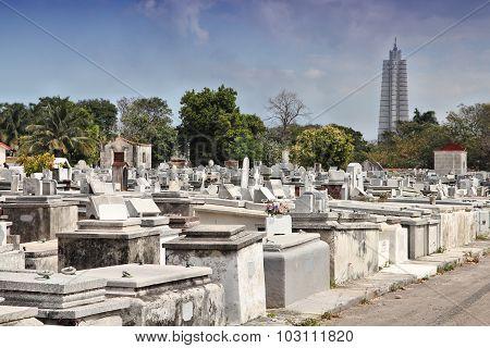 Columbus Cemetery In Havana