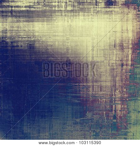 Old antique texture - perfect background with space for your text or image. With different color patterns: yellow (beige); purple (violet); green; blue