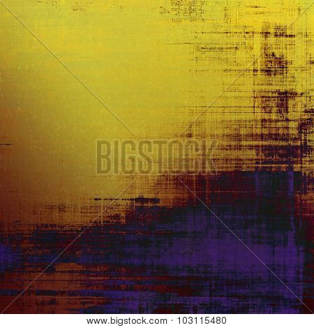 Old texture - perfect background with space for your text or image. With different color patterns: yellow (beige); brown; purple (violet); black