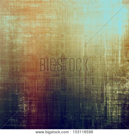 Highly detailed grunge texture or background. With different color patterns: yellow (beige); brown; purple (violet); blue