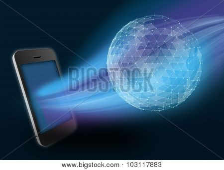 Phone and digital planet global telecommunications network