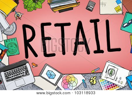 Retail Market Price Consumer Buying Concept