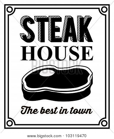 Steak House design