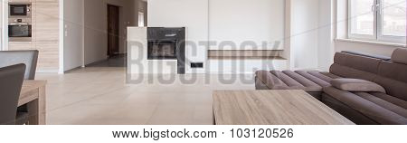 Commodious Living Room