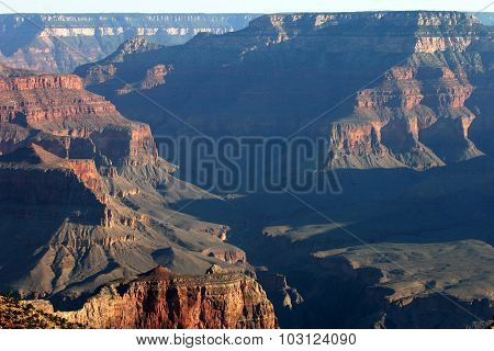 Ancient Grand Canyon Scenic View
