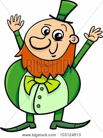 Saint Patrick Leprechaun Cartoon
