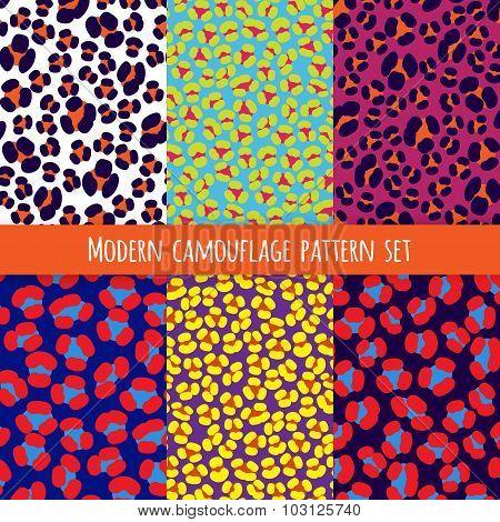 Camouflage Animal Print Patterns