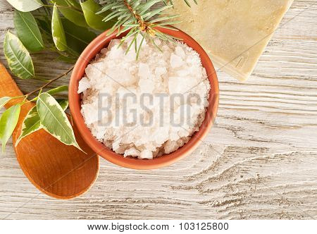 Aromatic Bath Salt And Soap