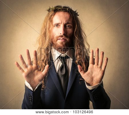 Businessman or Jesus?